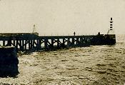 Old Photo of Amble Pier