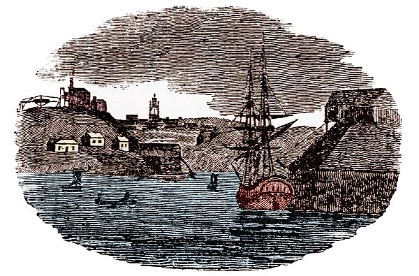 1807 The Picture Of Newcastle Upon Tyne
