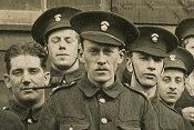 Group of Northumberland Fusiliers, Alnwick 1915